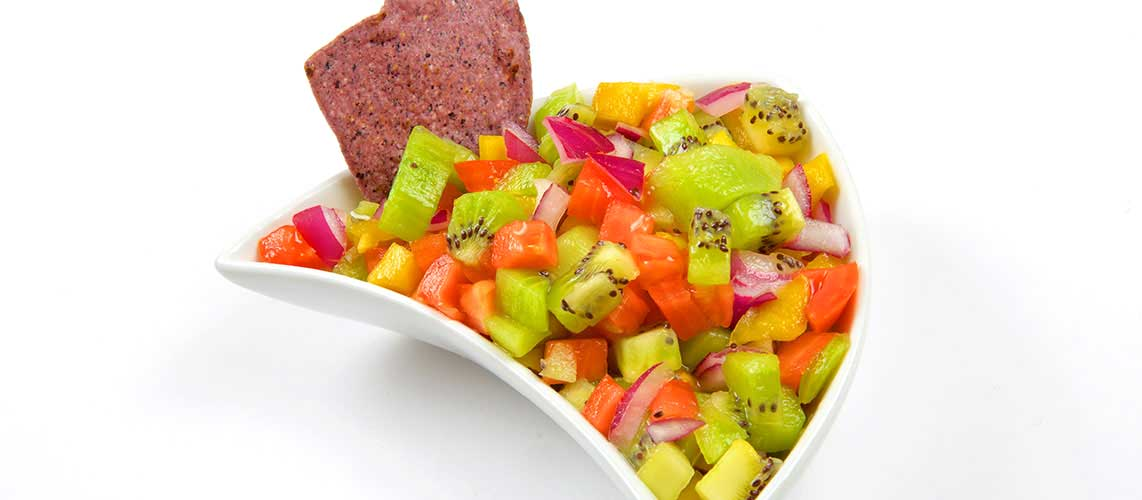 Tropical Kiwi Salsa recipe